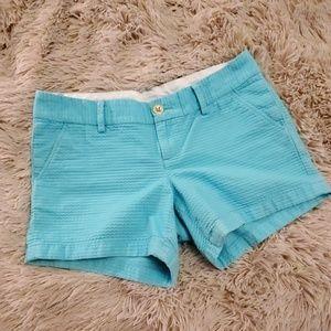 Turquoise Lilly pulitzer shorts size 8